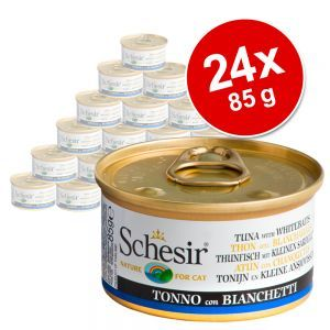 Image of Schesir in Acqua di cottura 24 x 85 g - Tonnetto con filetti di Manzo