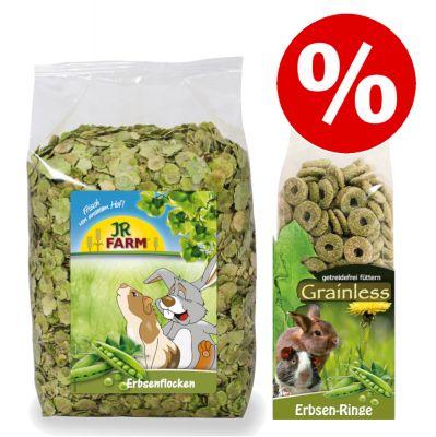 3 kg JR Farm -hernehiutaleet + 500 g hernerenkaat erikoishintaan! - hernehiutaleet (3 kg) + hernerenkaat (500 g)