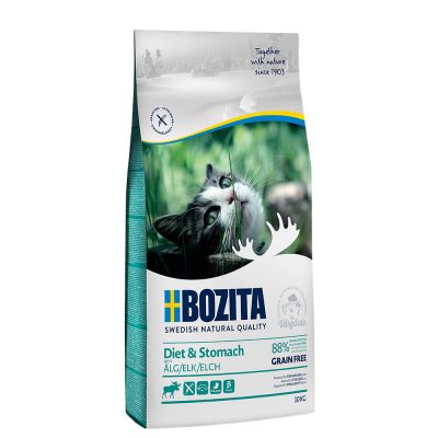 Bozita Grainfree Diet & Stomach Elk - 400 g