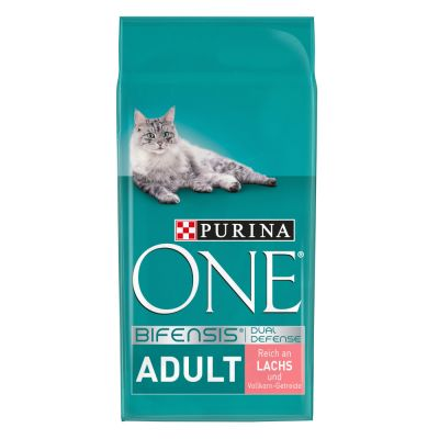 Purina ONE Adult Salmon & Whole Grain Cereals - 3 kg