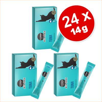 Cosma Jelly Snack -säästöpakkaus 24 x 14 g - mix