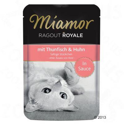 Miamor Ragout Royale i sås 22 x 100 g – Kalkon & vilt