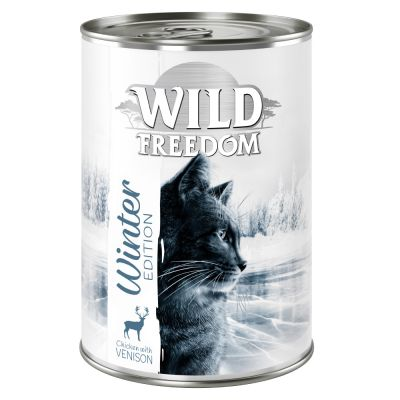 Limited Edition: Wild Freedom Winter Edition, peura & kana - 6 x 400 g