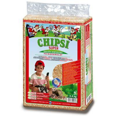 Chipsi Super -lemmikinkuivike - säästöpakkaus 2 x 3,4 kg