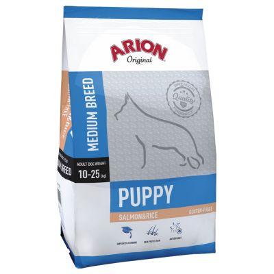 Arion Original Puppy Medium Breed Salmon & Rice - 12 kg