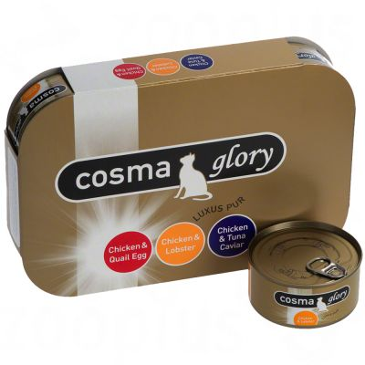 Mieszany pakiet próbny Cosma Glory w galarecie - 6 x 85 g