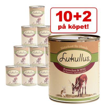 10 + 2 på köpet! 12 x 800 g Lukullus – Kanin & vilt