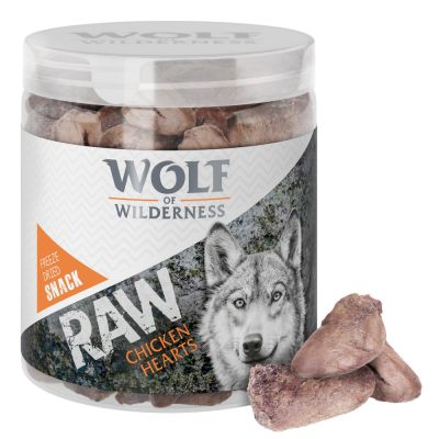 Wolf of Wilderness - gevriesdroogde Premium snacks - kippenharten