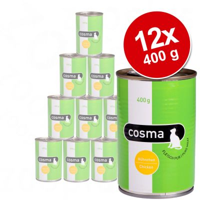 Ekonomipack Cosma Original i gelé 12 x 400 g – Sardiner