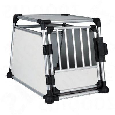 Trixie Aluminium transportbur stl M – L – Storlek L: B 63 x D 90 x H 65 cm