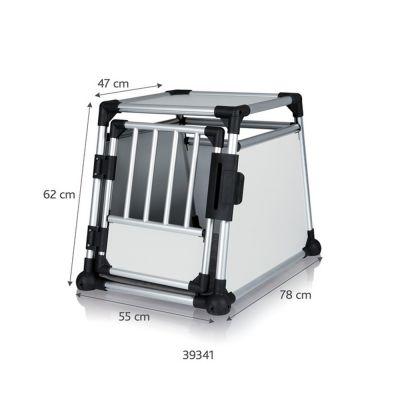 trixie-hondenbench-aluminium-maat-m-l-55-b-78-h-62-cm