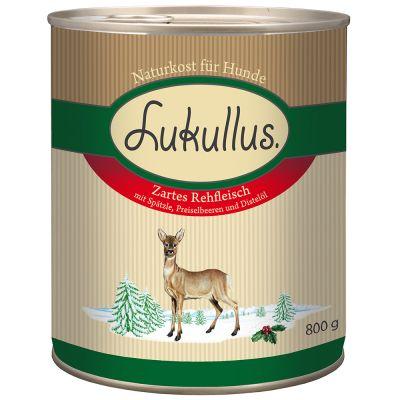 5 + 1 gratis! Lukullus Winter Menu, 6 x 800 g / 400 g - Soczysta gęś, 6 x 800 g