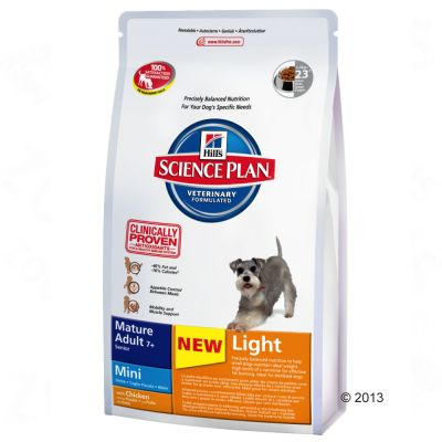 hill-science-plan-mature-7-light-mini-kip-hondenvoer-25-kg