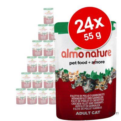 almo-nature-kat-green-label-filets-voordeelpakket-24-x-55-g-tonijnfilet-kipfilet-met-ham