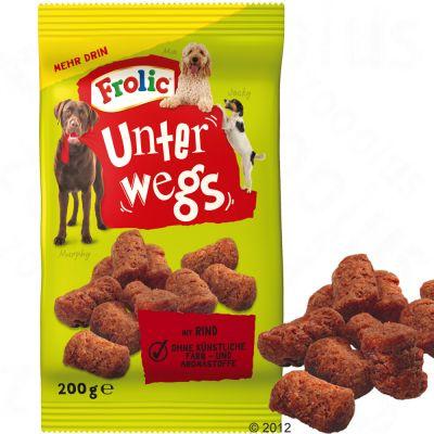 frolic-walky-bites-met-rund-hondenvoer-200-g