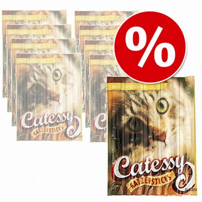 Ekonomipack: 45 st Catessy Sticks – Bar-B-Q Anka