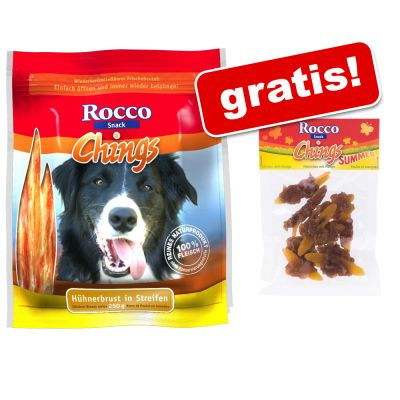 2 x Rocco Chings 70 g Rocco Chings Kip met Mango gratis! Kipfilet gedroogd (2 x 250 g) Kip Mango