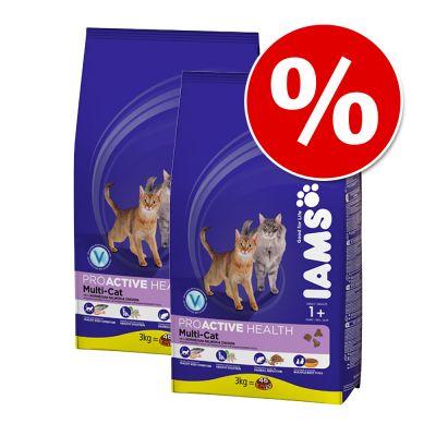 Ekonomipack: 10/15 kg Iams torrfoder för katter till lågpris – Adult Light Roast Chicken (2 x 10 kg)