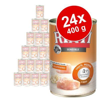 Rinti Sensible -säästöpakkaus 24 x 400 g - lammas