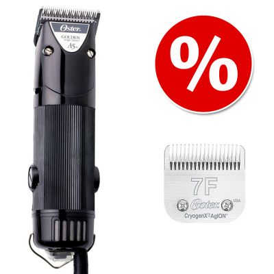 Oster Golden A5 trimmer + skär 7F till specialpris! – Trimmer 1speed + skär 7F