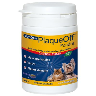 ProDen PlaqueOff -hammashoito - 2 x 40 g