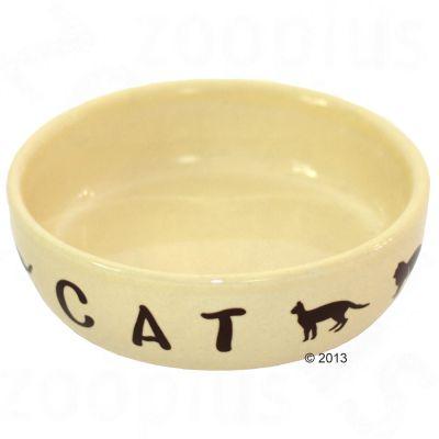 keramiek-voerbak-cats-cream-250-ml-o-13-cm