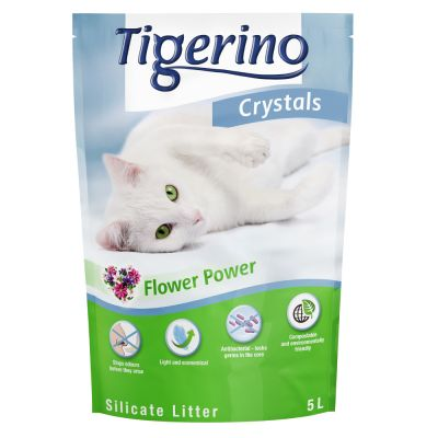 Tigerino Crystals Flower-Power Katzenstreu