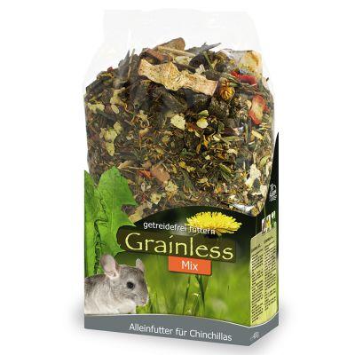 JR Grainless Mix Chinchilla -chinchillanruoka - 3 x 650 g