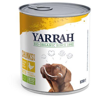 Multipack Yarrah Bio Nassfutter Dose 12 x 820 g