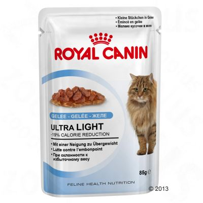 royal-canin-ultra-light-i-gele-okonomipakke-24-x-85-g