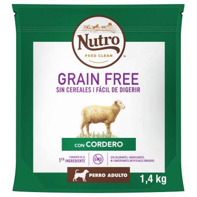 Nutro Grain Free Adult Cordero para perros - 1,4 kg