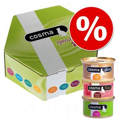 Cosma Special Edition Box tutustumishintaan! – 14 x 85 g