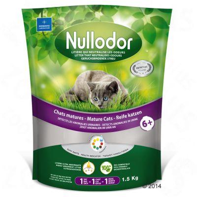 Nullodor Mature Cats kattenbakvulling Voordeelpakket 3 x 1,5 kg