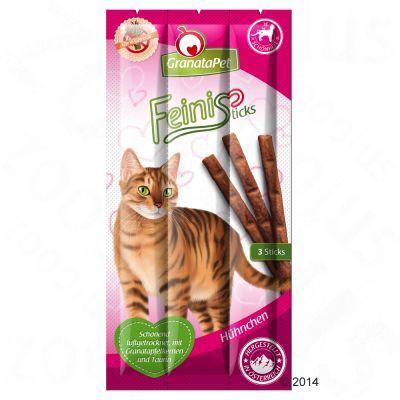 GranataPet Feini Sticks -kanatikut - säästöpakkaus: 3 x 3 kpl