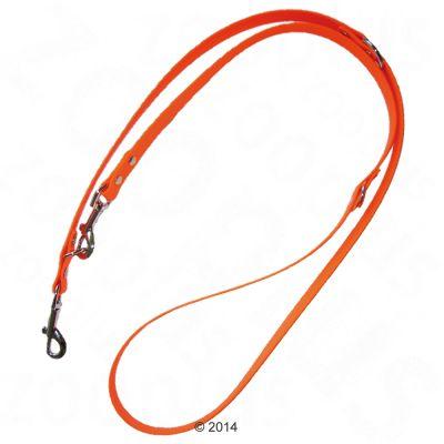 heim-justerbar-hundesnor-biothane-orange-200-cm-lang-19-mm-bred