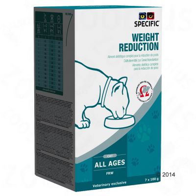 Specific Cat FRW – Weight Reduction – 7 x 100 g