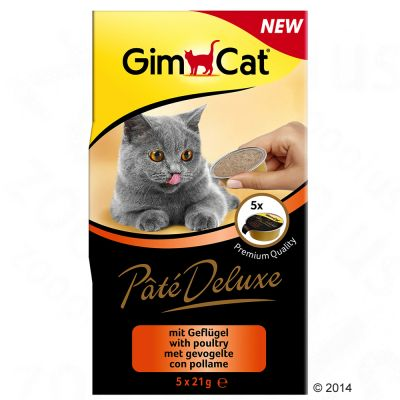 gimcat-pate-deluxe-gevogelte-5-x-21-g