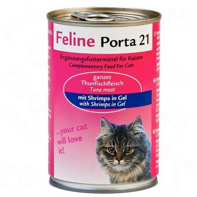 Feline Porta 21, 6 x 400 g - - Tuńczyk z aloesem