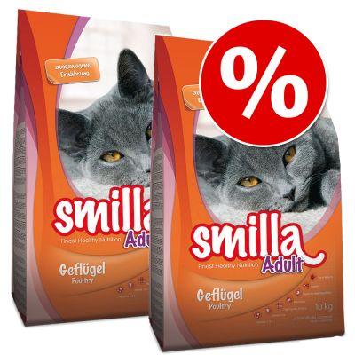Smilla-säästöpakkaus 2 x 10 kg - Sterilised