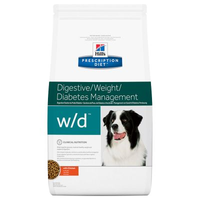 Hill's Prescription Diet Canine w/d Digestive/Weight/Diabetes Management - kana - 12 kg