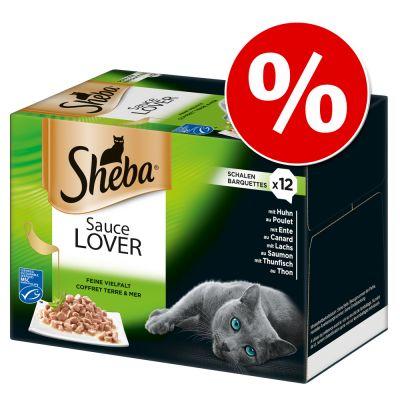 Sheba rasiat 96 x 85 g erikoishintaan! - Selection in Sauce