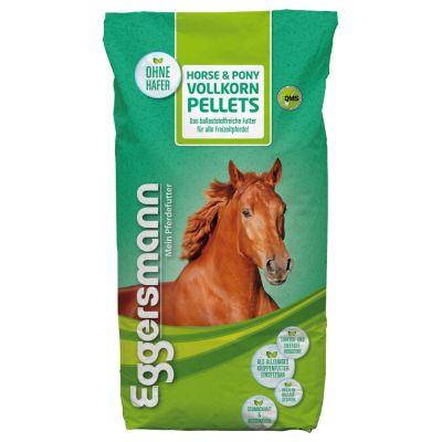 Eggersmann Horse & Pony -täysjyväpelletit 10 mm - 2 x 25 kg
