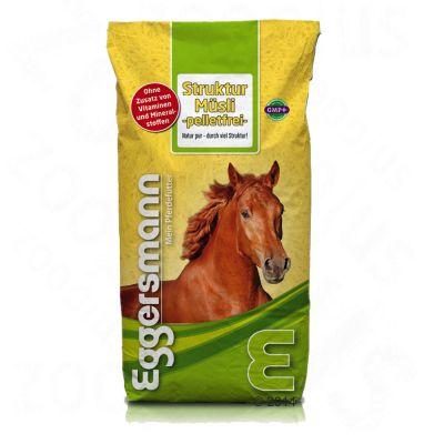 Eggersmann Struktur Msli pelletsfritt – Ekonomipack: 2 x 15 kg