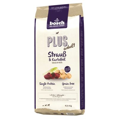 bosch HPC Plus Ostrich & Potato - 12,5 kg