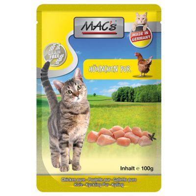 MAC´s Cat 12 x 100 g - Telecí & hovězí