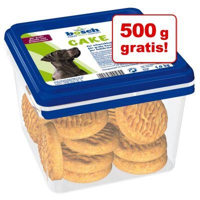 Boschfinestsnackconcept  - 500 g gratis! 5 kg Bosch Biscuits - Cake