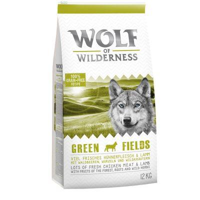 "Wolf of Wilderness Adult ""Green Fields"" - Lamm"