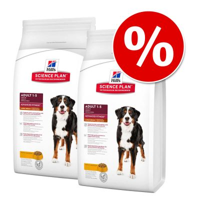 Hill's-säästöpakkaus - 2 x 12 kg Healthy Mobility Medium Breed