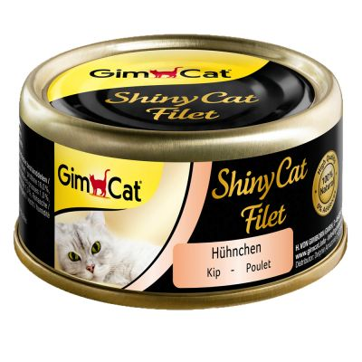 GimCat ShinyCat Filet 6 x 70 g - tonnikala