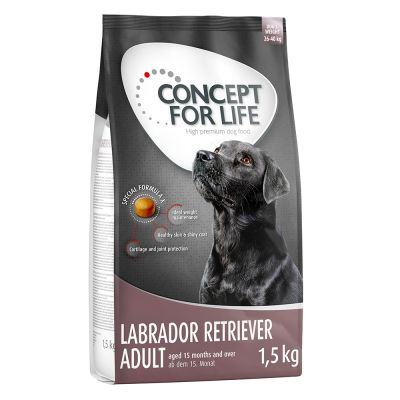 750 g + 750 g gratis! Concept for Life karma sucha dla psa, 1,5 kg - Medium Junior